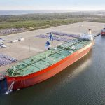 Crude oil tanker 'Marine Hope', largest vessel ever to call at Hambantota International Port